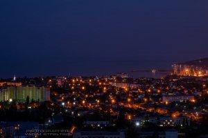 Фото ночной Феодосии #2345