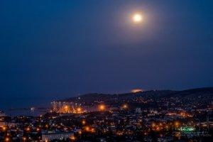 Фото ночной Феодосии #2347