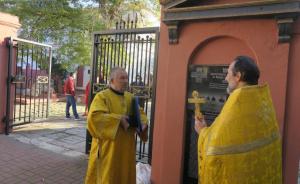 В Феодосии установили памятную доску 100-летия Русского Исхода #15403