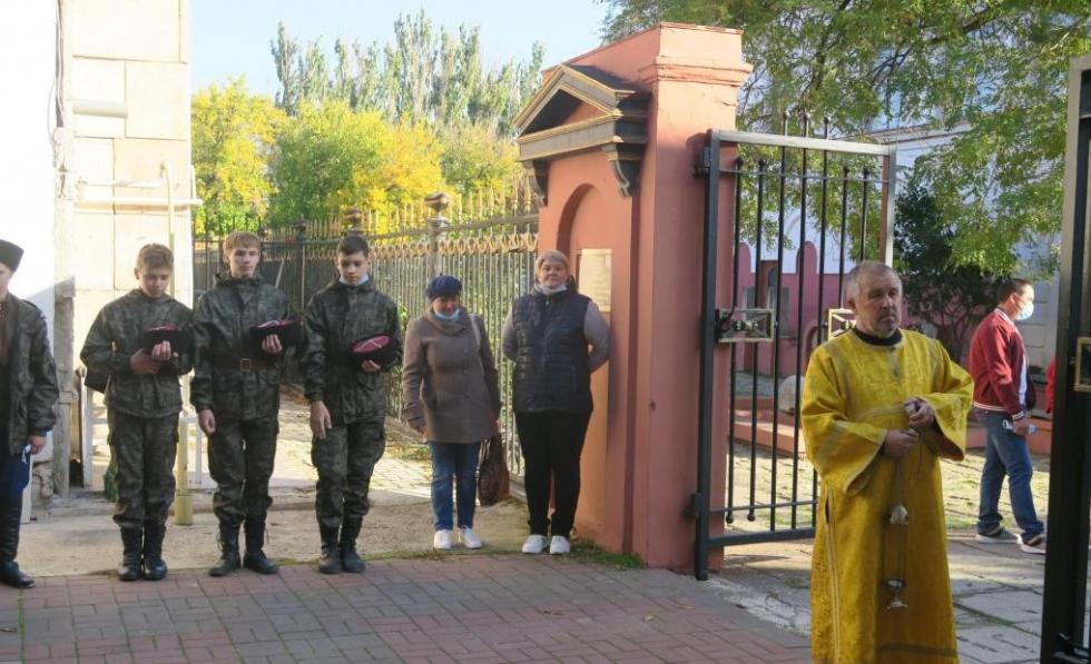 В Феодосии установили памятную доску 100-летия Русского Исхода #15412