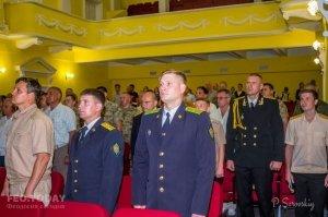 Собрание ко Дню пограничника в Феодосии #11542