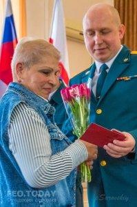 Награждение Феодосийских спасателей #8868