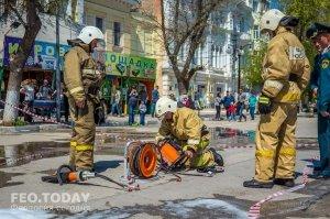 День пожарной охраны в Феодосии #8776