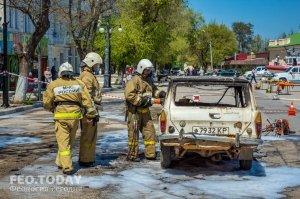 День пожарной охраны в Феодосии #8782