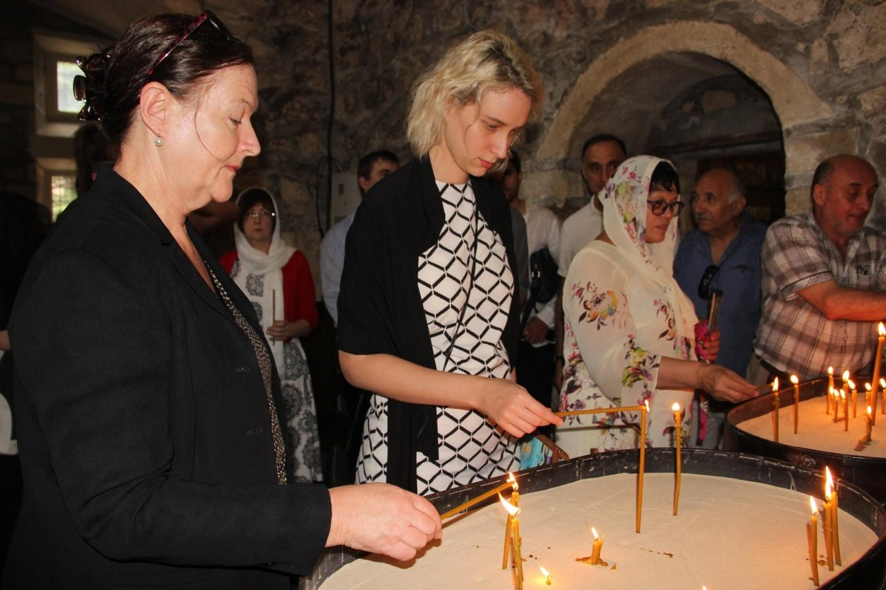 Фото почетных гостей на День города и юбилей Айвазовского в Феодосии #1105