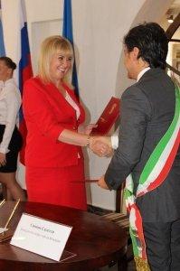 Фото итальянской делегации в Феодосии #217