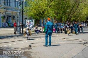 День пожарной охраны в Феодосии #8796