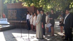 Фото митинга в Феодосии в память о жертвах терактов #3349