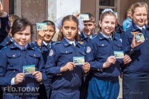 Открытие автомотошколы в Феодосии #8016