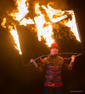 Фото фестиваля «Крым Fire-fest» в Коктебеле #2367