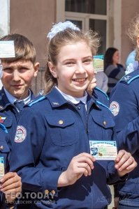 Открытие автомотошколы в Феодосии #8017