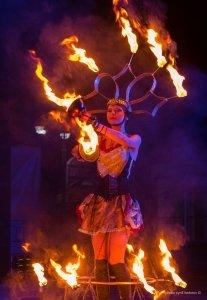Фото фестиваля «Крым Fire-fest» в Коктебеле #2361