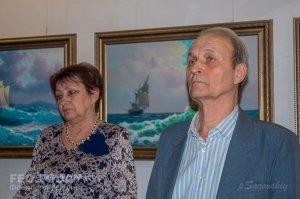 Открытие выставки «Морской пейзаж» в музее Грина #8073