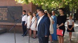 Фото митинга в Феодосии в память о жертвах терактов #3336
