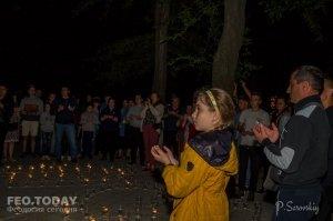 Акция «Зажги огонь в своем сердце» в Феодосии #10916
