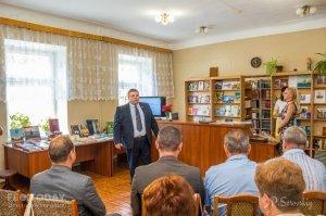 Собрание ко Дню библиотек в Феодосии #11408