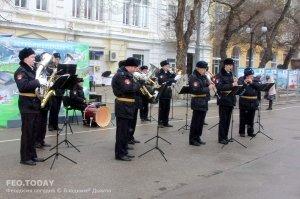 Феодосия. Празднование 23 февраля #7372