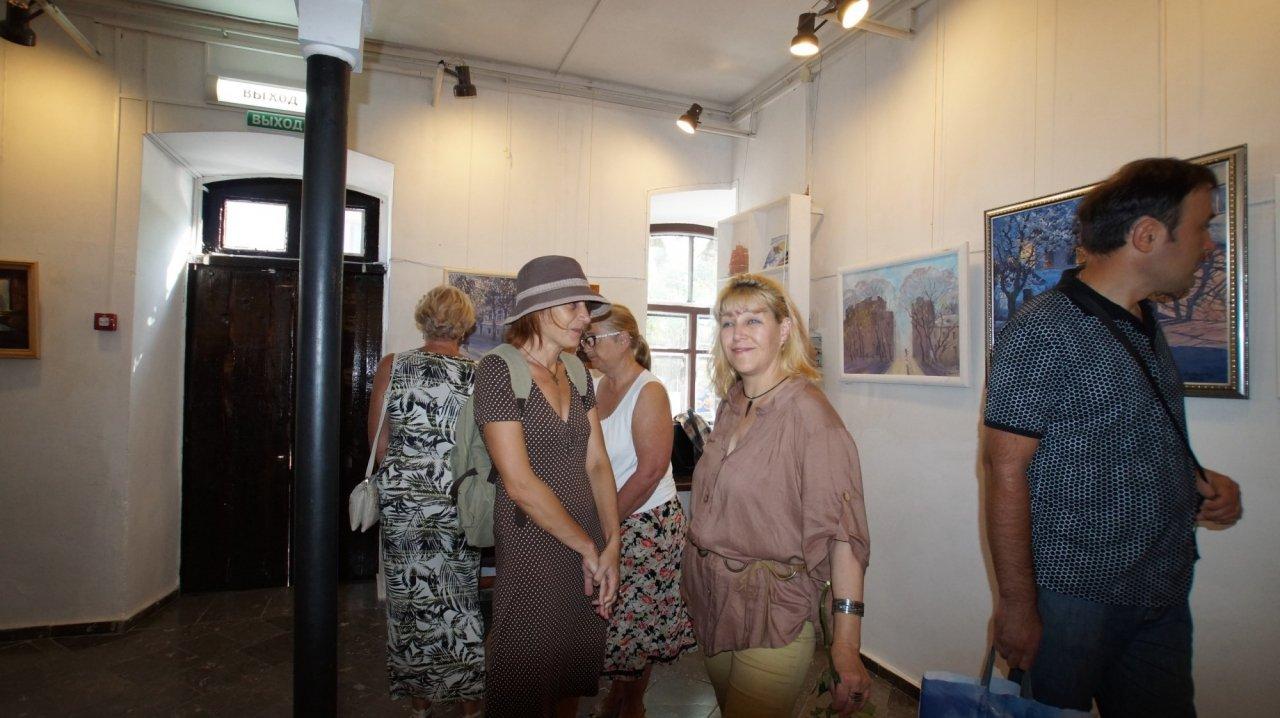 Фото открытия выставки Юшиной в музее ГРИНА #3385
