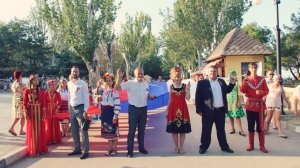 День Государственного флага в Феодосии #13901