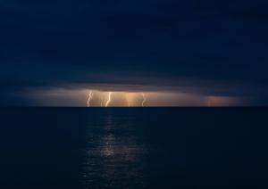 Молния в Феодосии #15465