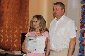 Фото вручения дипломов выпускникам ФФЭА #353