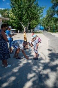 Фото автопробега и конкурс рисунков на авто в День города #1355