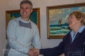 Открытие выставки «Морской пейзаж» в музее Грина #8059