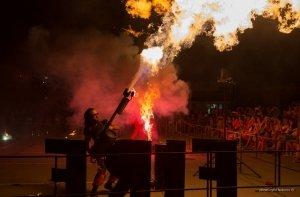Фото фестиваля «Крым Fire-fest» в Коктебеле #2371