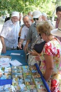 Фото спецгашения марки с Айвазовским в Феодосии #865