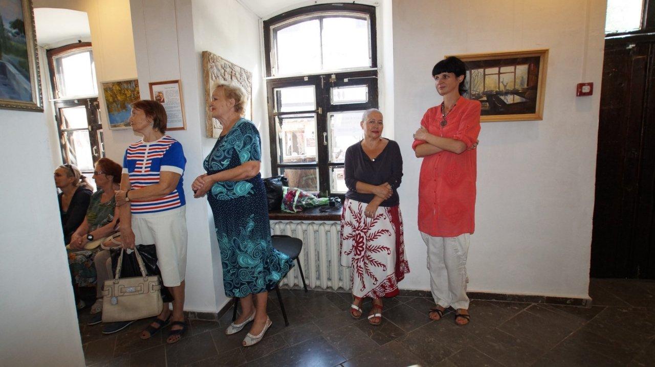 Фото открытия выставки Юшиной в музее ГРИНА #3401