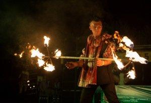 Фото фестиваля «Крым Fire-fest» в Коктебеле #2363
