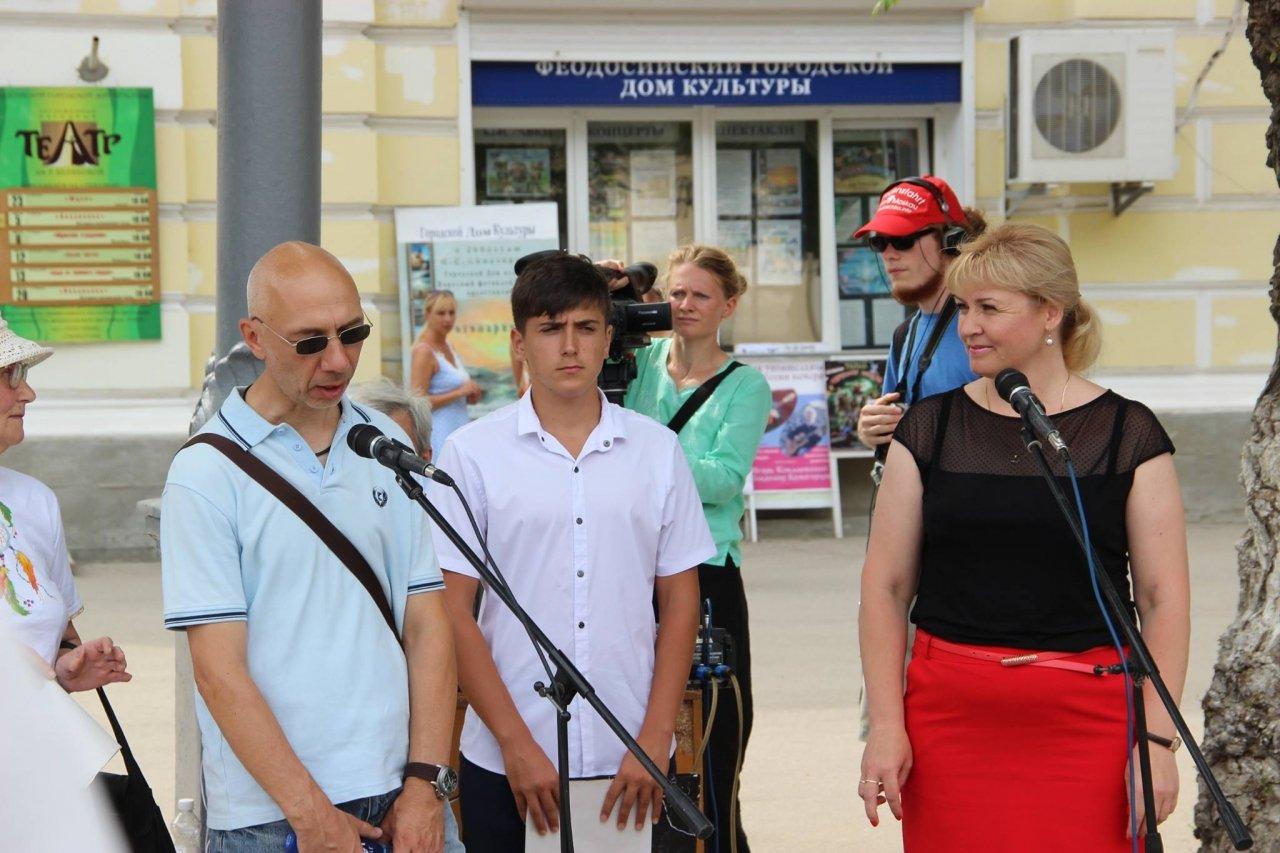Фото визита участников автопробега Берлин—Москва в Феодосию #2328