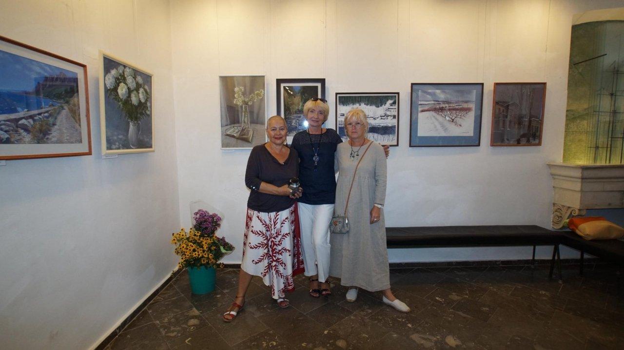 Фото открытия выставки Юшиной в музее ГРИНА #3386