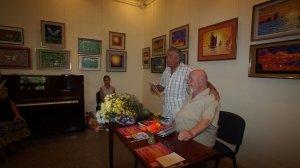 Фото открытия выставки МАЛЫШЕВА в музее ГРИНА #3414