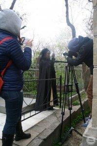 Фото со съемок фильма об Айвазовском в Феодосии #921