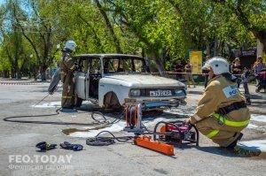 День пожарной охраны в Феодосии #8788