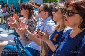 Феодосийский политех поздравил ветеранов с Победой #9710