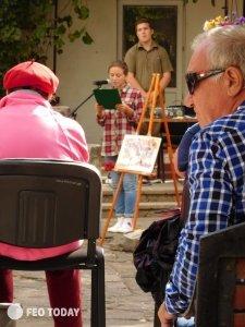 Фото 15 цветаевского костра в Феодосии #5270