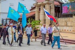 В Феодосии почтили память жертв депортации крымских татар #10862