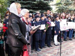 Феодосийцы почтили память жертв трагедии в керчи #14349
