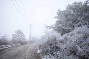 Первый снег в Феодосии #14532