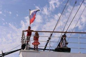 Фото парусного судна «Херсонес» в Феодосии #1188