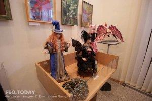 Выставка кукол. Музей Грина #7559