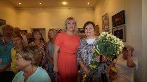 Фото открытия выставки МАЛЫШЕВА в музее ГРИНА #3406