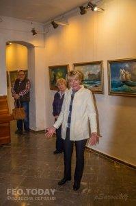 Открытие выставки «Морской пейзаж» в музее Грина #8076
