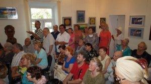 Фото открытия выставки МАЛЫШЕВА в музее ГРИНА #3418