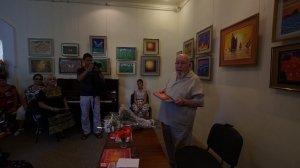 Фото открытия выставки МАЛЫШЕВА в музее ГРИНА #3413