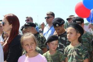 Фото освящения закладного камня по часовню в Феодосии #890