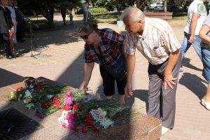 Фото митинга в Феодосии в память о жертвах терактов #3352