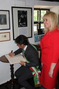 Фото итальянской делегации в Феодосии #200